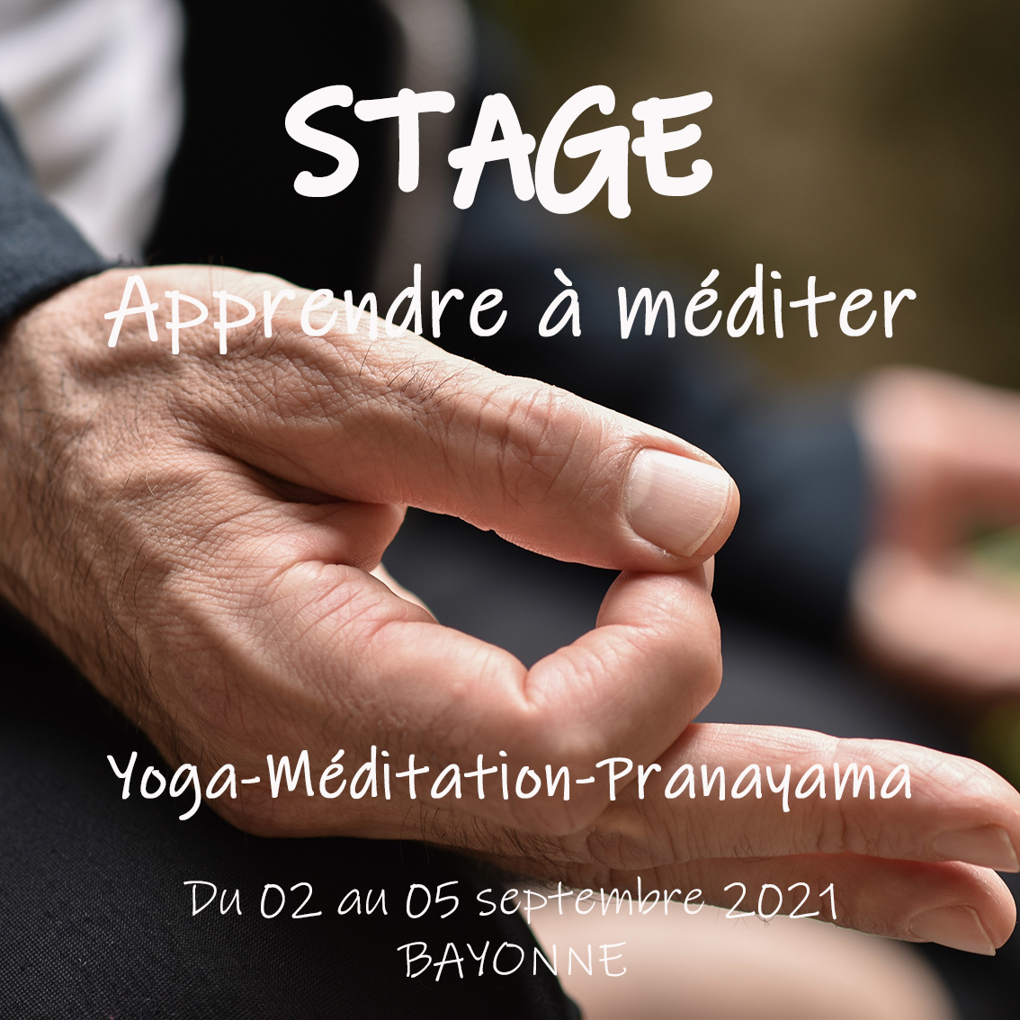 Stage méditation